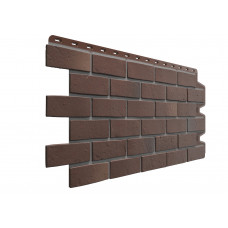 Фасадні панелі Дьоке Berg коричневий (цегла) Docke