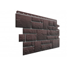Фасадні панелі Дьоке Burg земляний (камінь) Docke
