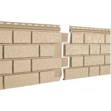 Фасадні панелі Стоун Хаус Клінкер пісочний S-Lock Ю-Пласт StoneHaus