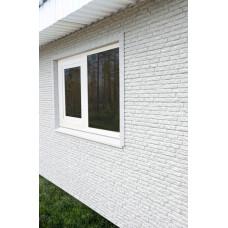 Фасадні панелі Стоун Хаус Кварцит світло-сірий Ю-Пласт StoneHaus