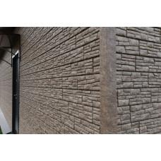 Фасадні панелі Стоун Хаус Сланець бурий Ю-Пласт StoneHaus