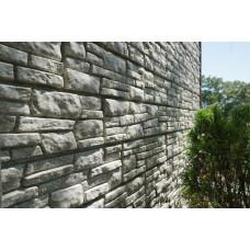 Фасадні панелі Стоун Хаус Сланець світло-сірий Ю-Пласт StoneHaus