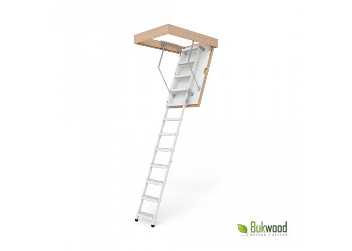Сходи на горище Bukwood Steel STEP